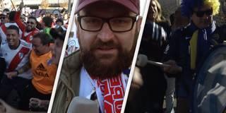 """Fan-Wahnsinn beim Superclasico! Und mitten drin ein """"lebensmüder"""" Deutscher"""