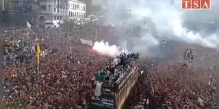 Mega-Empfang! Algerien feiert Afrika-Champion