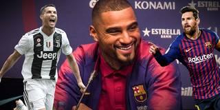 Ronaldo oder Messi? Das sagt Barca-Neuzugang Boateng