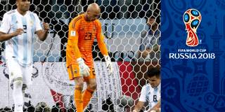 Torwart-Blackout bringt Argentinien an den WM-Abgrund