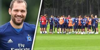 HSV: Trainingsauftakt mit Lasogga und über tausend Fans