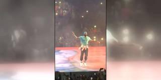 Hier crasht LeBron James das Konzert von Drake
