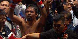 So krass meldet sich Box-Legende Pacquiao zurück