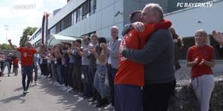 Letztes Training: So emotional werden Ribery und Co. an der Säbener verabschiedet