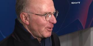 """""""Tür ist auf"""" - Rummenigge zuversichtlich fürs Rückspiel"""