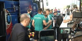 Hier kommt das DFB-Team in Sotschi an