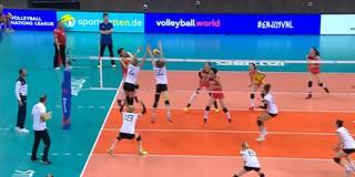 Fünf-Satz-Krimi! Deutschland verspielt 2:0 gegen China