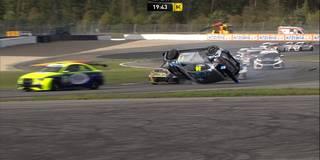 360-Grad-Crash: Hier überschlägt sich Eberle spektakulär