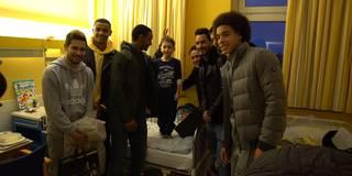 Besuch in Kinderklinik: BVB zeigt vor Derby Herz