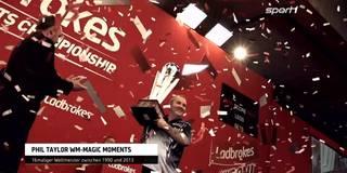 Gänsehaut! Phil Taylors magische WM-Momente