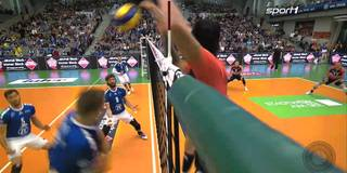 Mega-Angriff und Feueralarm! So lief der Volleyball-Klassiker