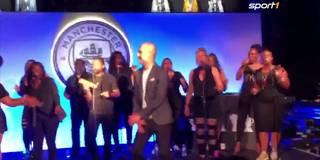 Tanz den Pep: Hier rockt Guardiola die Bühne
