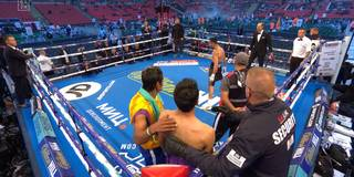 Siiiii! Boxer macht den Ronaldo-Jubel