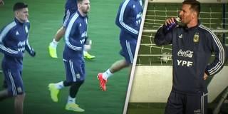 Nationalteam-Comeback: Hier trainiert Messi erstmals wieder mit der Albiceleste