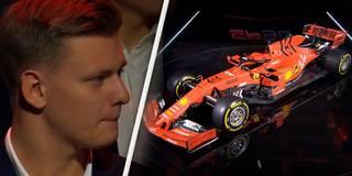 Nachwuchstalent Mick Schumacher staunt über Vettels neuen Ferrari
