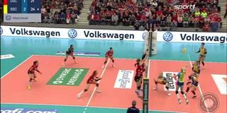 Volleyball-Spektakel und Mega-Comeback beim Spitzenspiel