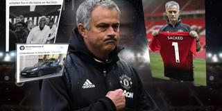 Mourinho gefeuert - und das Internet explodiert