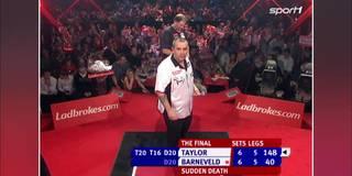 Finale 2007: Das legendärste Spiel der Darts-Geschichte