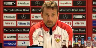 """Kuschelkurs: Weinzierl kann VfB """"nicht viel vorwerfen"""""""