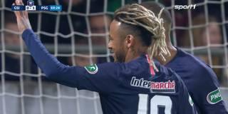 Mit neuer Frisur: Neymar-Show im Pokal