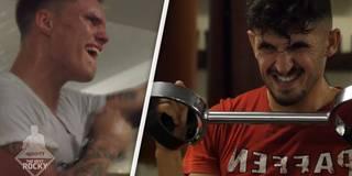 Schmerz, Schweiß und Leid: Die Boxer kurz vor dem Zusammenbruch