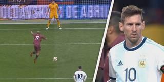 Arroganz-Elfmeter verdirbt Messis Argentinien-Comeback