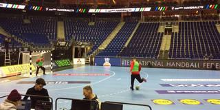 Kicken und gute Stimmung: So trainiert das DHB-Team