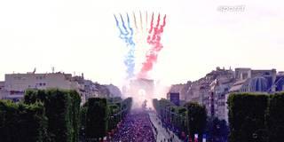Paris dreht durch! So feiert Frankreich seine WM-Helden