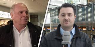 Keine PK-Sorgen: So entspannt fliegt Hoeneß nach Athen