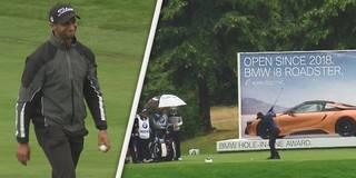 Hole-in-one! Perfekter Schlag bei den BMW International Open
