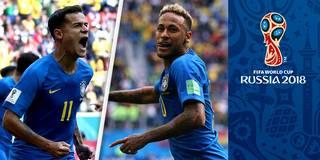 Last-Minute-Wahnsinn! Coutinho und Neymar retten Brasilien