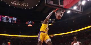Lakers-Debüt! Die LeBron-Show im Video