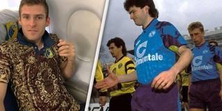 Skurrile Trikots: Blauer BVB und Perser-Teppich