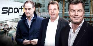 Der CHECK24 Doppelpass mit Oliver Mintzlaff und Heribert Bruchhagen