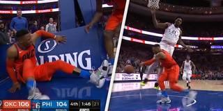 Nach Embiid-Attacke: Westbrook verliert die Nerven