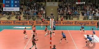 Serie hält an: Allianz MTV Stuttgart schlägt auch Wiesbaden
