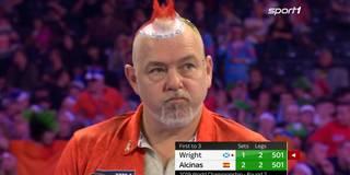 Paukenschlag bei der WM! Wright scheitert zum Auftakt