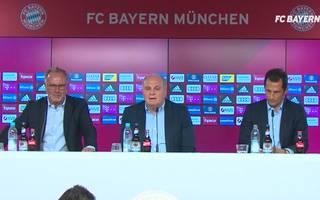 FC Bayern: Pressekonferenz in voller Länge mit Rummenigge, Hoeneß & Salihamidzic