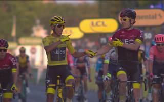 Tour de France: Highlights der letzten Etappe - Buchmann auf Platz 4