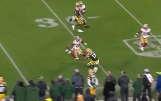 EQ St. Brown mit Catch in der NFL