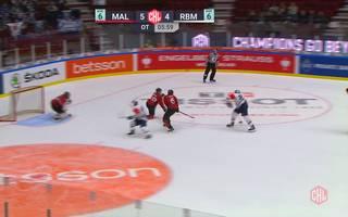 CHL: Malmö Redhawks - EHC Red Bull München (5:5)