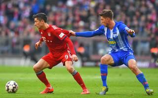 Niklas Stark nahm Robert Lewandowski im Duell Bayern vs. Hertha weitestgehend aus dem Spiel