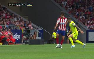 Atletico Madrid - Getafe (1:0): Tor und Highlights   La Liga