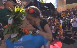 Ironman Hawaii: Patrick Lange gewinnt und macht Heiratsantrag
