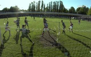 Der HSV gewinnt das Hamburger Regionalliga-Duell bei Altona 93 knapp mit 2:1.