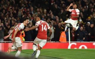 Mesut Özil und Pierre-Emerick Aubameyang waren die Matchwinner des FC Arsenal