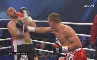 Vincent Feigenbutz gewinnt turch T.K.O. gegen Yusuf Kangül