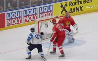 Russland - Finnland (0:1): Tore und Highlights | Eishockey WM 2019