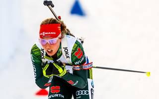 IBU Biathlon World Cup - Women's Sprint, Öaura Dahlmeier