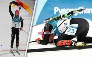 Wintersport: Zwangspause: Biathlon-Königin Laura Dahlmeier im freien Fall
